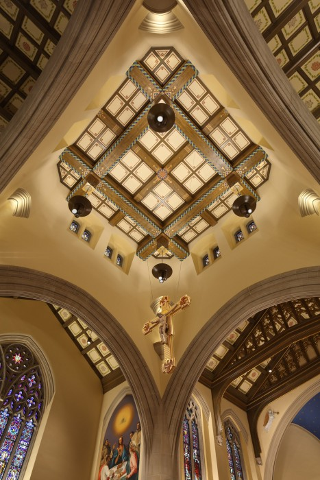 Cathedral of the Blessed Sacrament photos by Whitney Cox